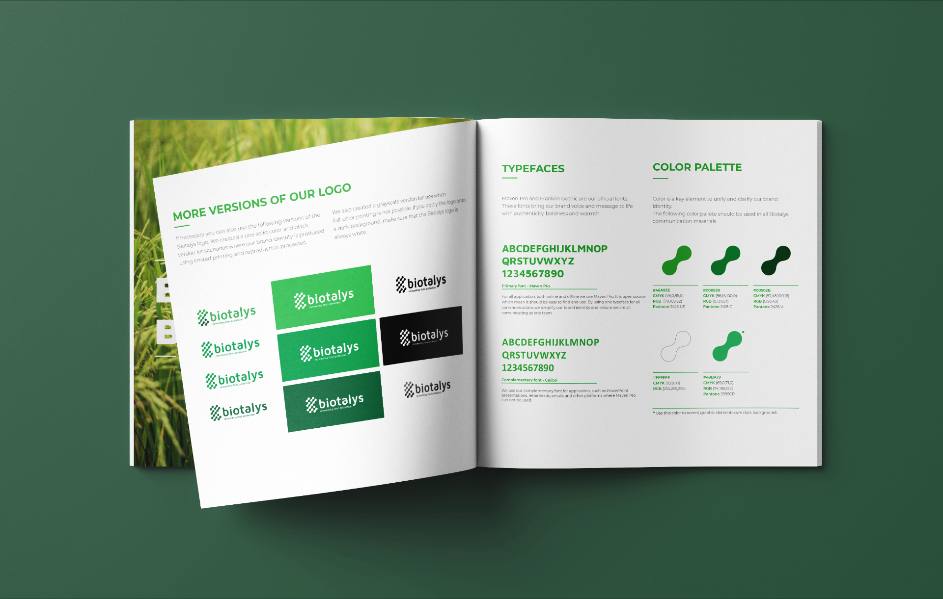 biotalys corporate guidelines logo page