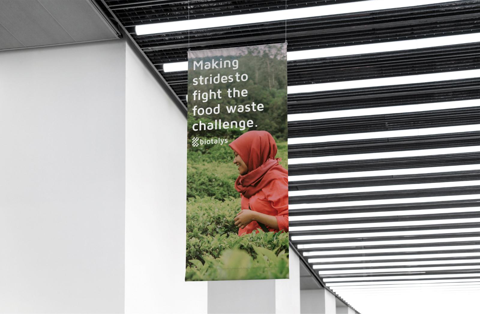 biotalys food waste banner
