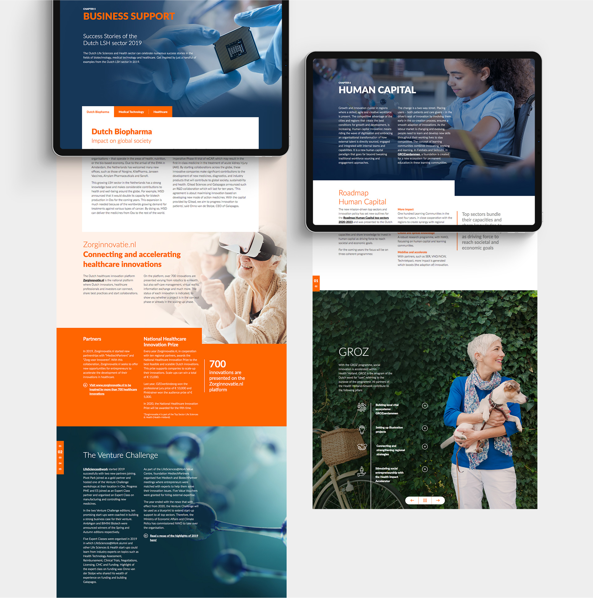 Health Holland e-zine preview: Business support , human capital in Year-In-Preview e-mag