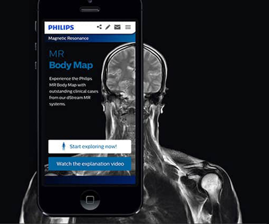 Philips - Intuitive web access to 100+ clinical cases