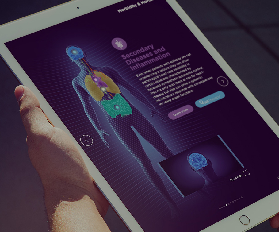 LivaNova - VNS Therapy Digital Sales Tool