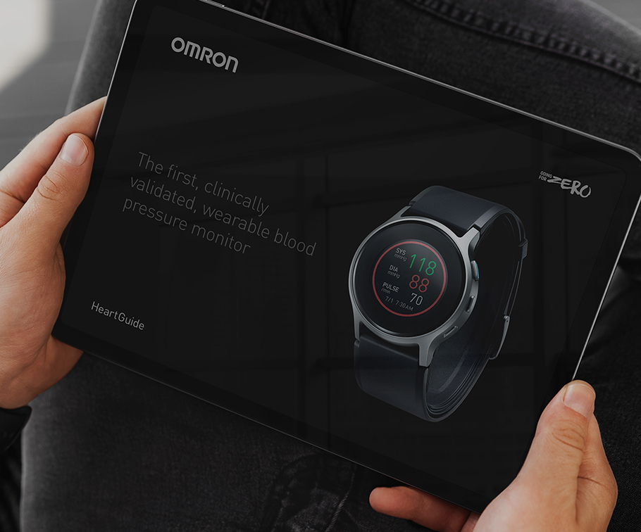 Omron - Transforming their new vision into human-driven brand identity